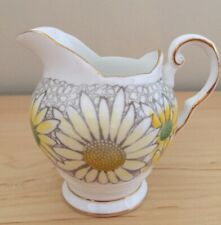 Tuscan Fine English Bone China Creamer And Sugar Cup From England Daisy