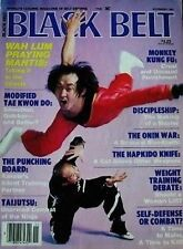 11/84 Black Belt Yao Li Wah Lum Praying Mantis Karate Kung Fu Martial Arts