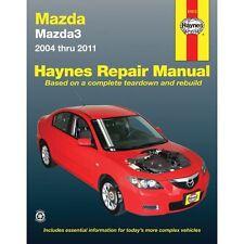 Repair Manual HAYNES 61012 fits 04-11 Mazda 3