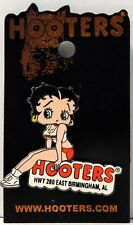 HWY 280 EAST BIRMINGHAM, AL HOOTERS GIRL BETTY BOOP SITTING ON A SIGN LAPEL PIN