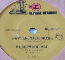 "orig NZ RARE Fleetwood Mac feat PETER GREEN ""Rattlesnake Shake"" VG Reprise 7"" 45"