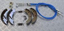 Orig. Knott 200x50 Bremsbacken Rep Set mit Seile HL 830mm Nirosta