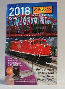 MTH 2018 READY TO RUN TRAIN CATALOG o gauge lionel standard dealer BOOK NEW