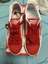 faa559ad0529 Puma Suede Classic X Hello Kitty Bright Red 366463 01 Youth