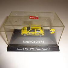 """HERPA RENAULT CLIO 16V """" GRAN DORADO """" Maquette de voiture"""