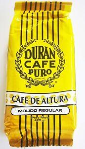 Café Durán Tradicional Panama Coffee Duran Coffee Ground 425g