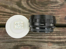 Leitz Leica Visoflex ll & lll 135/2.8 & 90/2 short mt.BLACK 16462 Canada+Caps