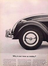 1963 63 VW Volkswagen Bug Beetle ORIGINAL Vintage Ad  CMY STORE   5+= FREE SHIP