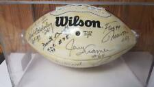 VINTAGE 1960'S GREEN BAY PACKERS AUTOGRAPHED FOOTBALL 14 TOTAL AUTOGRAPHS