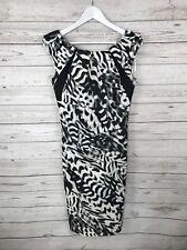 Vestido De Fiesta Karen Millen-Tamaño UK12-Animal Print-Excelente Estado 534e74e49faf0