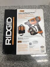 "Ridgid R175RNE 1-3/4"" Roofing Coil Nailer a-x"