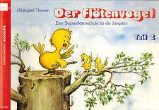 Theisen, Flötenvogel 2, Sopranflöten-Schule f Jüngste 1, Griffweise dt. + barock
