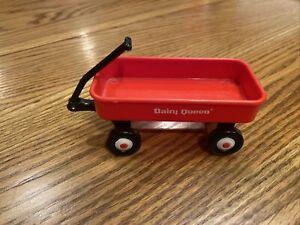 "Miniature Dairy Queen Red Radio Flyer 4"" Wagon"