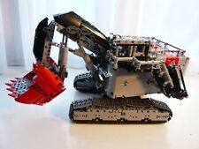Lego Technic TEREX RH400 Mining Excavator MOC Set w/ Instructions, Mini Figures