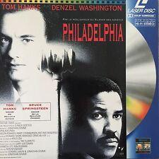 PHILADELPHIA WS PAL LASERDISC Tom Hanks, Denzel Washington,Roberta Maxwell