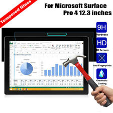 Premium Tempered Glass Screen Guard Protector For Microsoft Surface Pro 4 12.3″