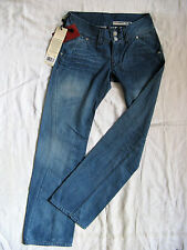 LEVI'S ENGINEERED Girls Shoecut Blue Stripper Jeans W31/L32 low waist loose fit