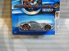 2005 HOT WHEELS ''FIRST EDITIONS'' #016 = FORD SHELBY GR-1 = CHROME , fte