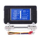 Dc Battery Monitor Meter Voltmeter Ammeter 0-200v For Cars Auto Solar Truck Boat
