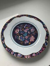 New Anthropologie Liberty of London Mabelle Dinner Plate Flowers Blue