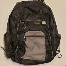 Targus Black and Gray Multipurpose Laptop Backpack bag
