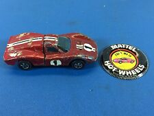 *** Vintage Hot Wheels Redline 1968 Ford Mark IV Hong Kong***
