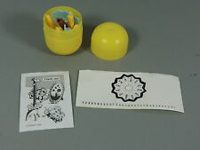 Toy: Placemats 1988 - Calendar Giraffe Ung. IN Egg + Bpz + Akf