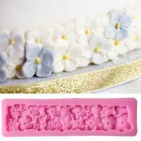 3D Four Leaf Flowers Silicone Cake Mold Fondant Cake Decorating Tools