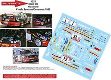 DÉCALS 1/18 réf 1275 BMW M3 Rouillard  Finale Tournus/Cevennes 1998