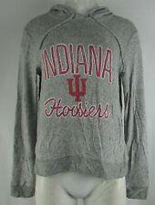 Indiana Hoosiers NCAA Women's Lightweight Fleece Pullover Hoodie