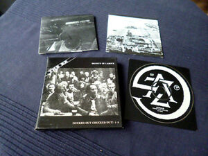 CD BOX The EX Dignity Of Labour |  Noise Dutch Punk 1983 Sucked Out Chucked Out