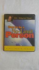 Dr. Wayne Dyer How to Be a No Limit Person Audio Cassette Program