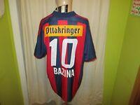 """Rapid Wien Adidas Trikot 04/05 """"WIEN ENERGIE"""" + Nr.10 Bazina + Signiert Gr.L Neu"""