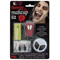 Vampire Make-up Kit with Fangs. Halloween Accessories for Fancy Dress.