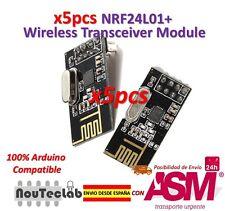 5pcs NRF24L01+ 2.4GHz Wireless Transceiver Module For Arduino Microcontroller