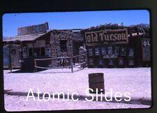1966 kodachrome photo slide Old Tucson Movie Set  Arizona