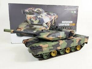Heng Long 1/24 German Leopard 2 A5 Airsoft 2.4ghz V5 Infrared Radio Control Tank