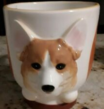 Welsh Corgi Large Porcelain Mug By Dnc Brand New