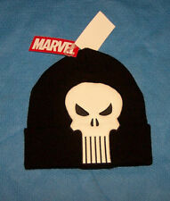 One Size Mens Marvel The Punisher  Winter Hat Beanie