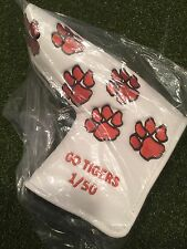 Tiger Paws White putter cover Fits Scotty Cameron Ping Blades
