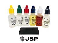 Fresh JSP Gold Testing Acids 10K 14K 18K 22K SILVER PLATINUM TEST STONE KIT