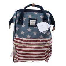 USA Flag Anello Japan Unisex Fashion Backpack Rucksack Diaper Travel Bag