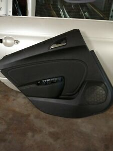 Opel Astra J Türverkleidung Sports Tourer Leder Hinten links