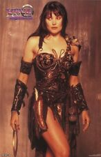 XENA WARRIOR PRINCESS ~ GOLD ~ 23x35 TV POSTER Lucy Lawless Pinup NEW/ROLLED!