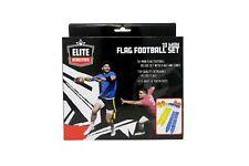 Elite Athletics 10 Man Flag Football Set New