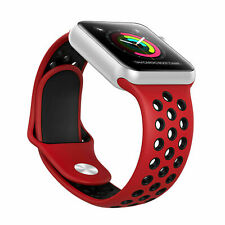 new Silicone Sport Band 38/40mm 42mm 44mm For Nike+ Apple Watch Series 2 3 4 5 6
