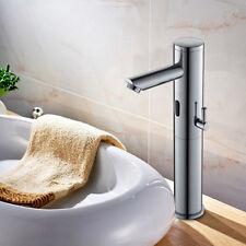 Hoch Infrarot Sensor Wasserhahn Mischbatterie Waschtisch Waschbecken Armatur