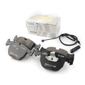 4pcs Car Front Brake Pads Set+Sensor for BMW E53 X5 3.0i 4.4i 00-06 34116761252
