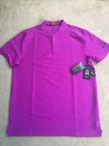 Nike TW Tiger Woods Speed Blade Golf Shirt CT3795-551 Large $95
