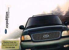 1999 Ford Expedition Lastwagen Broschüre mit Farbskala: Eddie Bauer,Xlt ,4WD,4x4